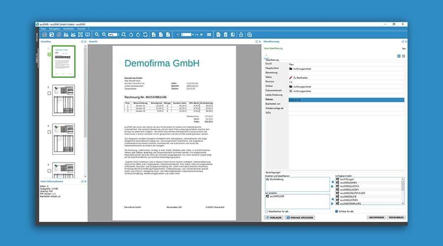 ecoDMS Software | Digitalisierung, Archivierung, Automatisierung