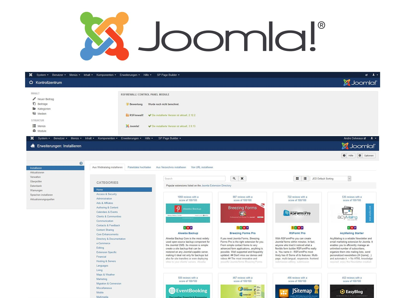 Joomla! Webdesign Ratingen