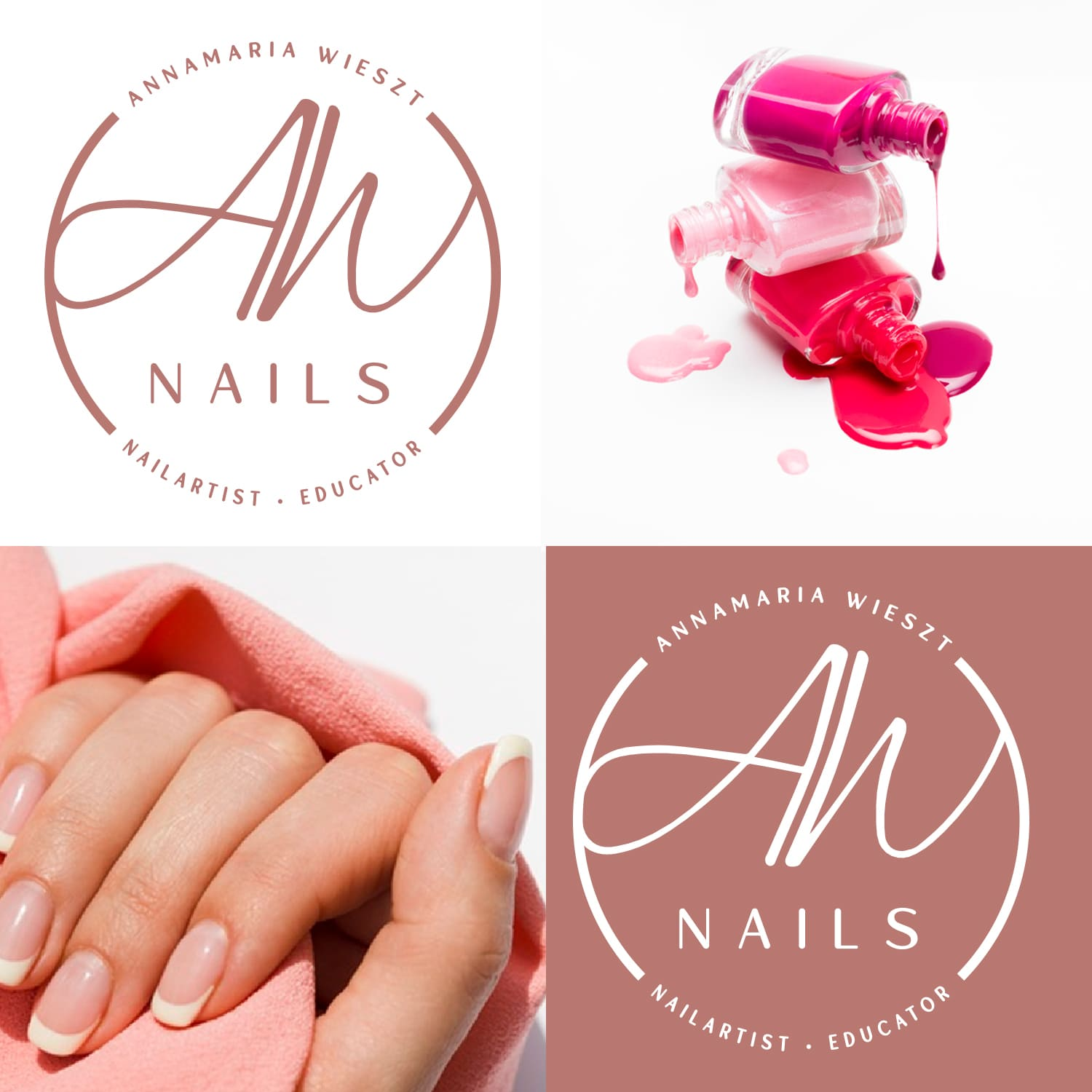 Logodesign AW Nails in Ratingen