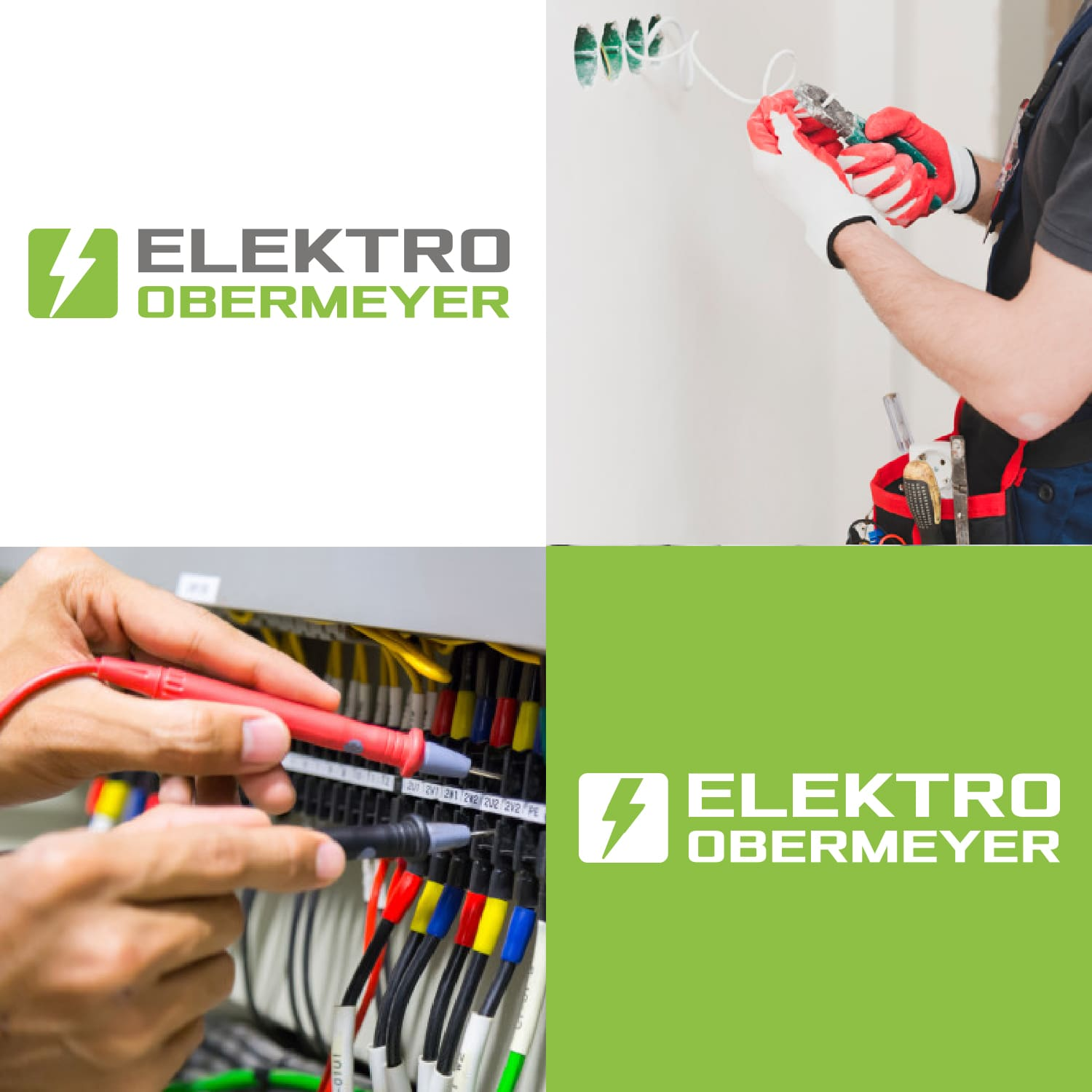 Logodesign Elektro Obermeyer in Düsseldorf