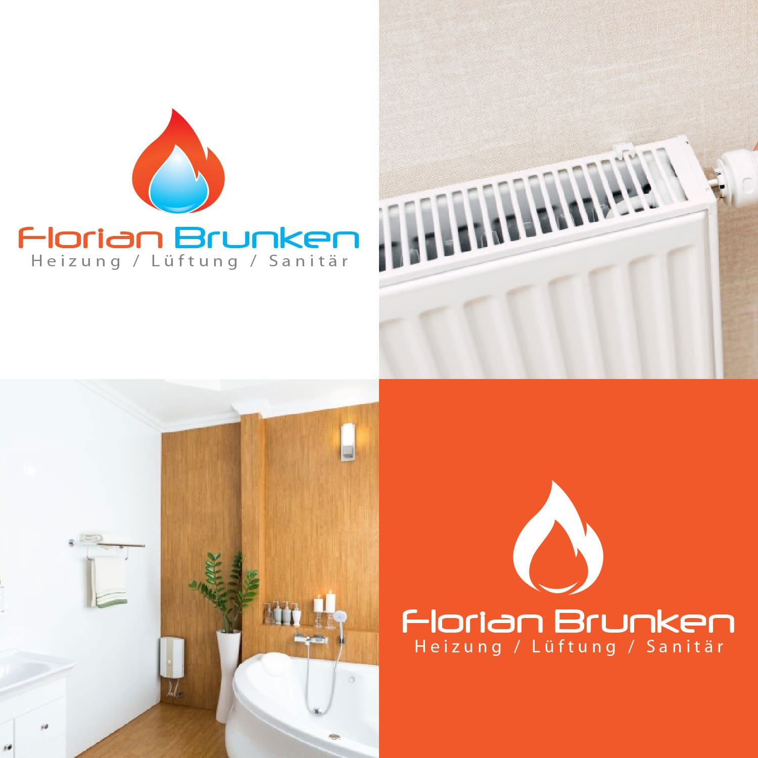 Logodesign Florian Brunken in Ratingen