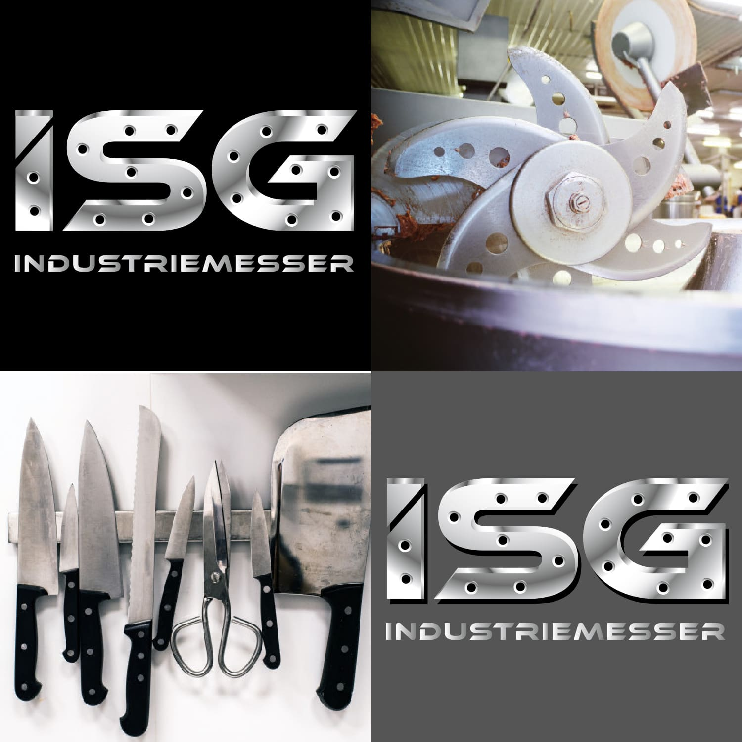 Logodesign ISG Industriemesser in Solingen