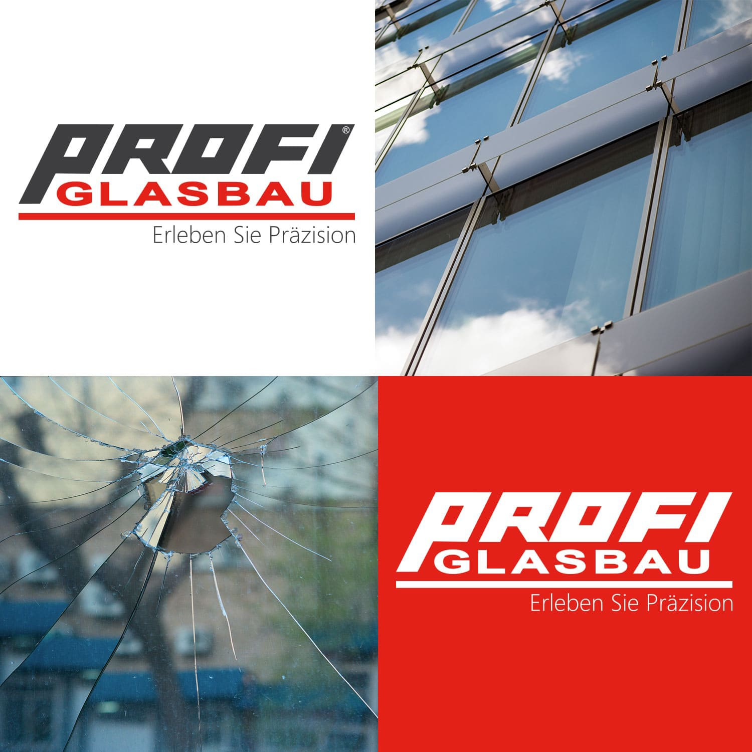 Logodesign Profi Glasbau