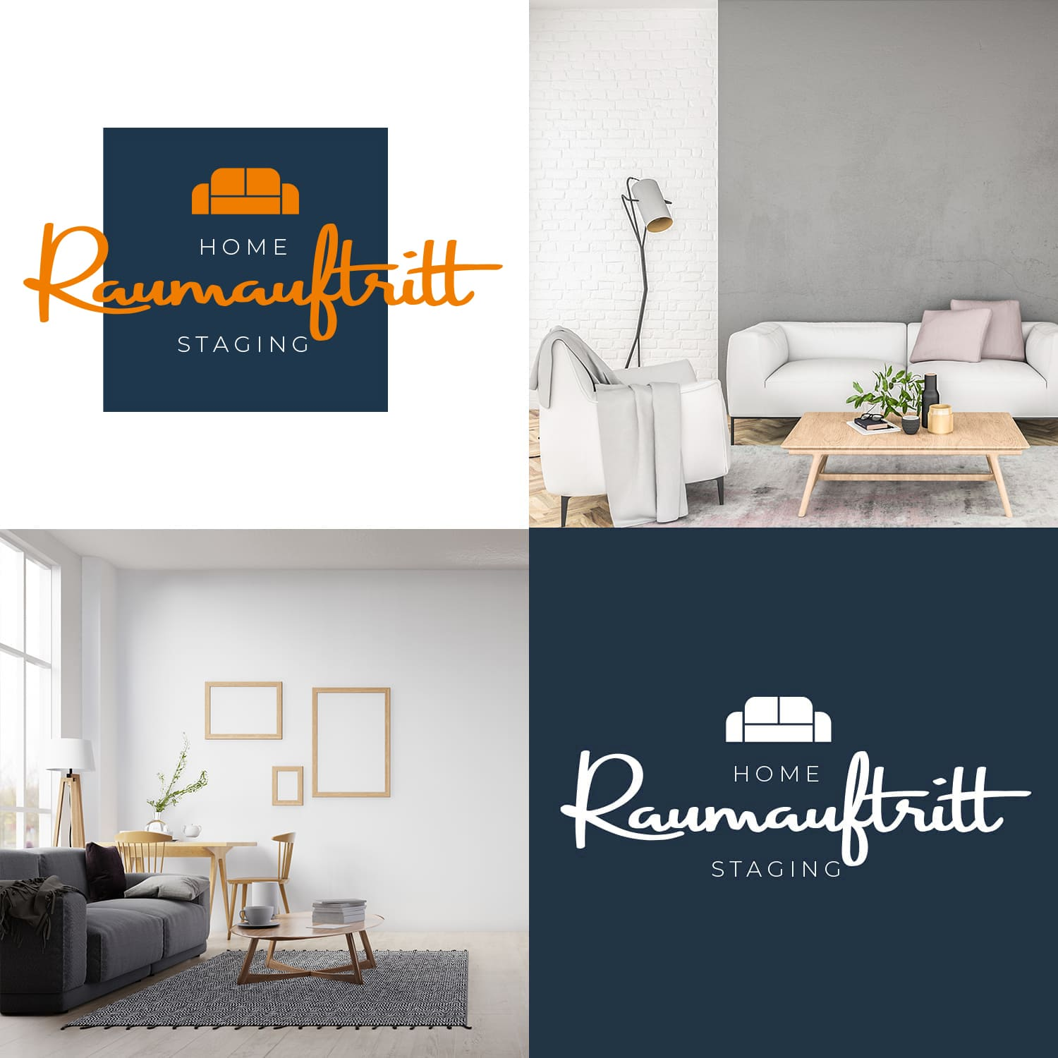 Logodesign Raumauftritt in Ratingen