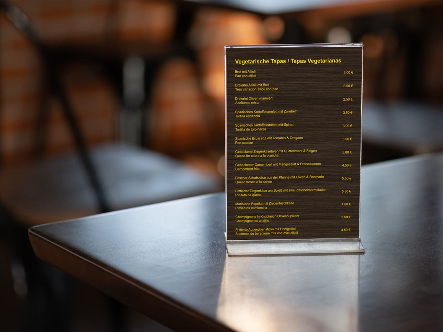 Flyer Printdesign Tapeo in Wesel
